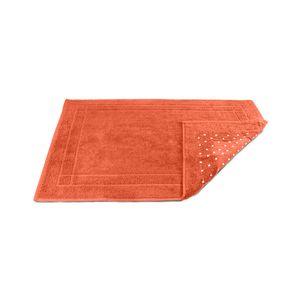 Tapete-atoalhado-para-banheiro-Sofisticata-50x70cm-laranja