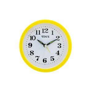 Relogio-de-mesa-com-despertador-redondo-Casita-12x12cm-amarelo