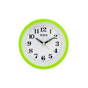 Relogio-de-mesa-com-despertador-redondo-Casita-12x12cm-verde