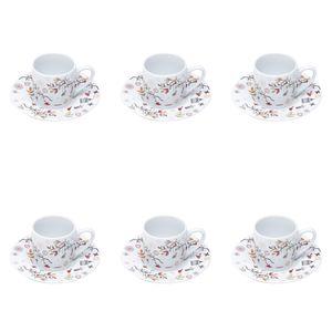 Jogo-de-xicaras-para-cafe-em-porcelana-Bon-Gourmet-Birds-6-pecas-90ml