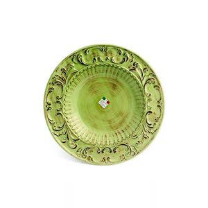 Prato-redondo-de-ceramica-Carbo-Import-43cm-verde