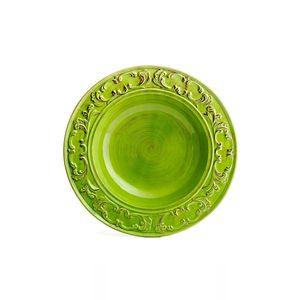 Prato-Paeja-de-ceramica-Carbo-Import-60cm-verde