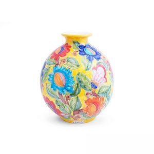 Vaso-de-ceramica-Carbo-Import-Bola-amarela-38x38cm