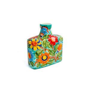 Garrafa-quadrada-de-ceramica-com-flores-Carbo-Import-32x15x38cm-verde