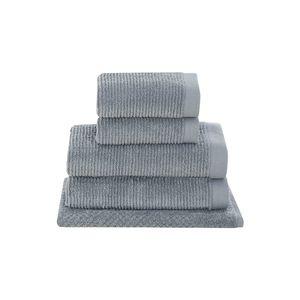 Jogo-de-banho-Buddemeyer-Dual-Rib-5-pecas-cinza