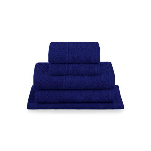Jogo-de-toalhas-Buddemeyer-Vilas-Boas-5-pecas-azul