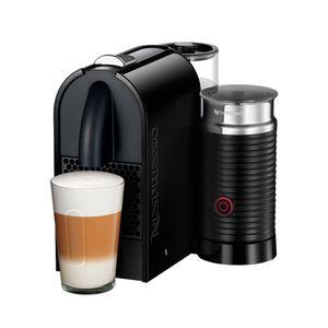 Cafeteira-com-aeroccino-Nespresso-U-Milk-black