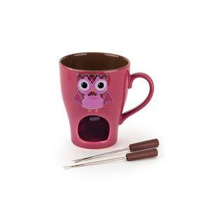 Fondue-em-porcelana-Bon-Gourmet-Owl-13cm-pink