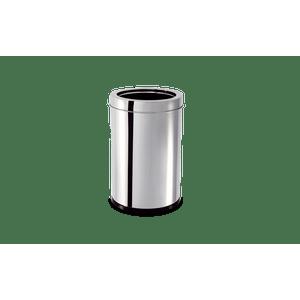 Lixeira-Inox-com-Aro-78-Litros---Decorline-Lixeiras-Ø-185-x-29-cm