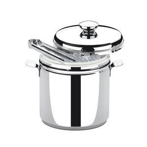 Balde-termico-para-gelo-com-pinca-Brinox-Savoy-15-litro
