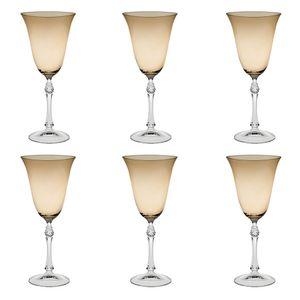 Jogo-de-tacas-para-vinho-Bohemia-250ml-6-pecas-ambar