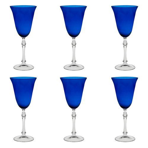 Jogo-de-tacas-para-vinho-Bohemia-250ml-6-pecas-azul