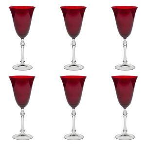 Jogo-de-tacas-para-agua-Bohemia-350ml-6-pecas-vermelha