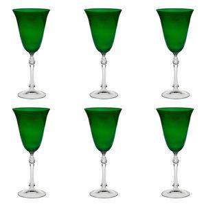 Jogo-de-tacas-para-agua-Bohemia-350ml-6-pecas-verde