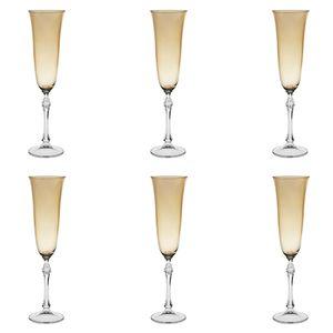 Jogo-de-tacas-para-champanhe-Bohemia-190ml-6-pecas-ambar