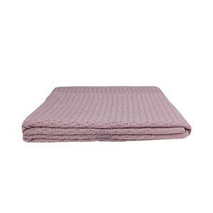 Manta-Tribus-tricot-lisa-160x120cm-rosa