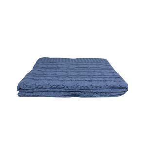 Manta-Tribus-tricot-Tranca-160x120cm-marinho
