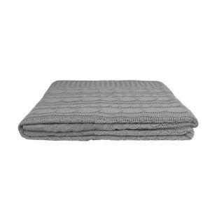 Manta-Tribus-tricot-Tranca-160x120cm-cinza