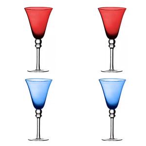 Kit-4-Tacas-para-vinho-em-vidro-Montarte-azul-e-vermelho