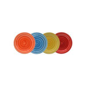 Jogo-de-pratos-de-sobremesa-Casambiente-4-pecas-19cm-colorido