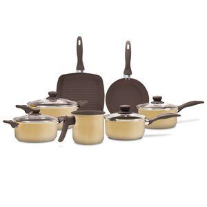 Jogo-de-panelas-Brinox-Ceramic-Life-Smart-7-pecas-mostarda