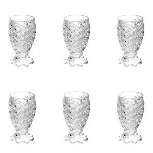 Jogo-de-tacas-em-vidro-para-agua-Lyor-Pineapple-6-pecas-200ml-incolor