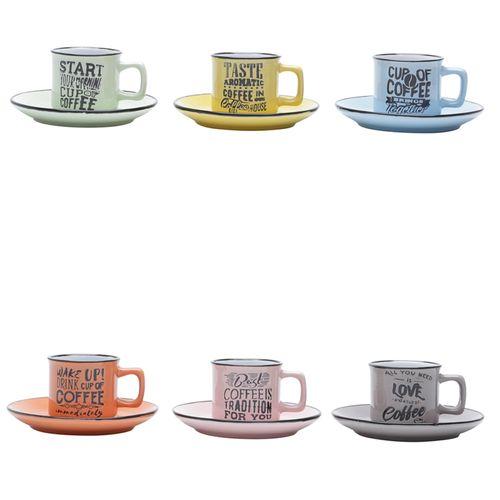 Jogo-de-xicadas-para-cafe-em-porcelana-Bon-Gourmet-Words-6-pecas-coloridas