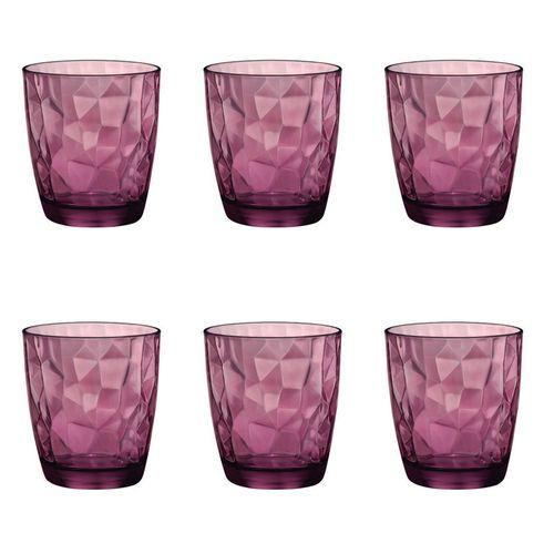 Copo-em-vidro-baixo-Bormioli-Diamond-390ml-roxo