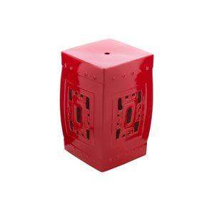 Banco-em-ceramica-garden-Euro-Kubus-vermelho