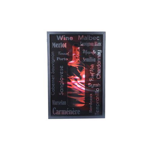 Quadro-porta-rolhas-Woodart-31x47x5cm-preto
