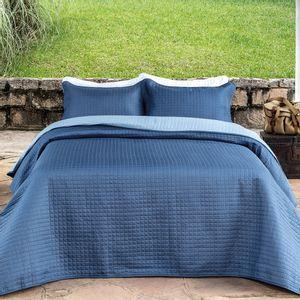 Colcha-dupla-face-com-porta-travesseiros-Kacyumara-Bouti-solteiro-blue