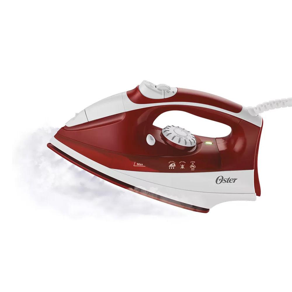 Ferro de passar a vapor Oster Ultra Care 220v vermelho