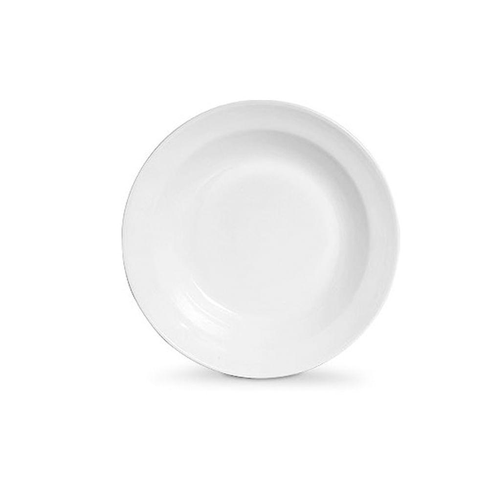 Tigela em cerâmica redonda Scalla Milão 48cm branco