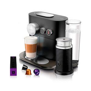 Cafeteira-com-aeroccino-Nespresso-Expert-preta-220v