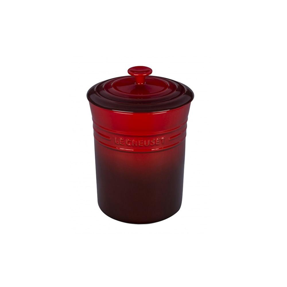 Porta condimentos em cerâmica Le Creuset 800ml vermelho