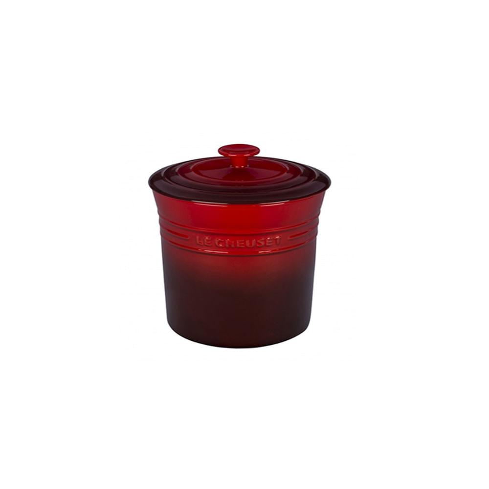 Porta condimentos em cerâmica Le Creuset 200ml vermelho