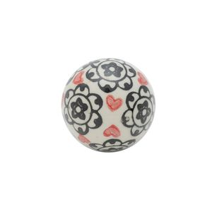 Bola-decorativa-em-ceramica-Urban-Flowers-and-Hearts-55cm