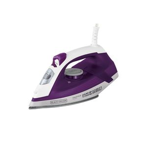 Ferro-vapor-com-base-antiaderente-Black---Decker-Ceramic-Gliss-220v-roxo