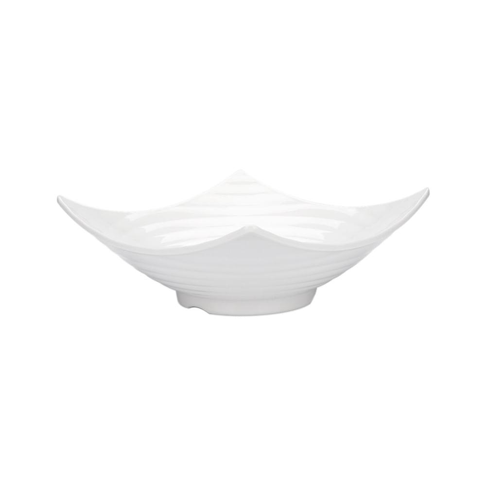 Saladeira em melamina Haus Circles 3,5 litros branca