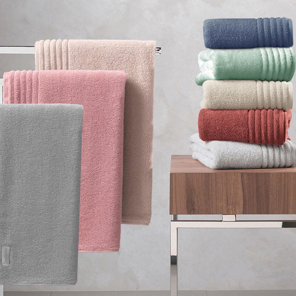 Toalha de banho Trussardi Imperiale 86x150cm soft rose