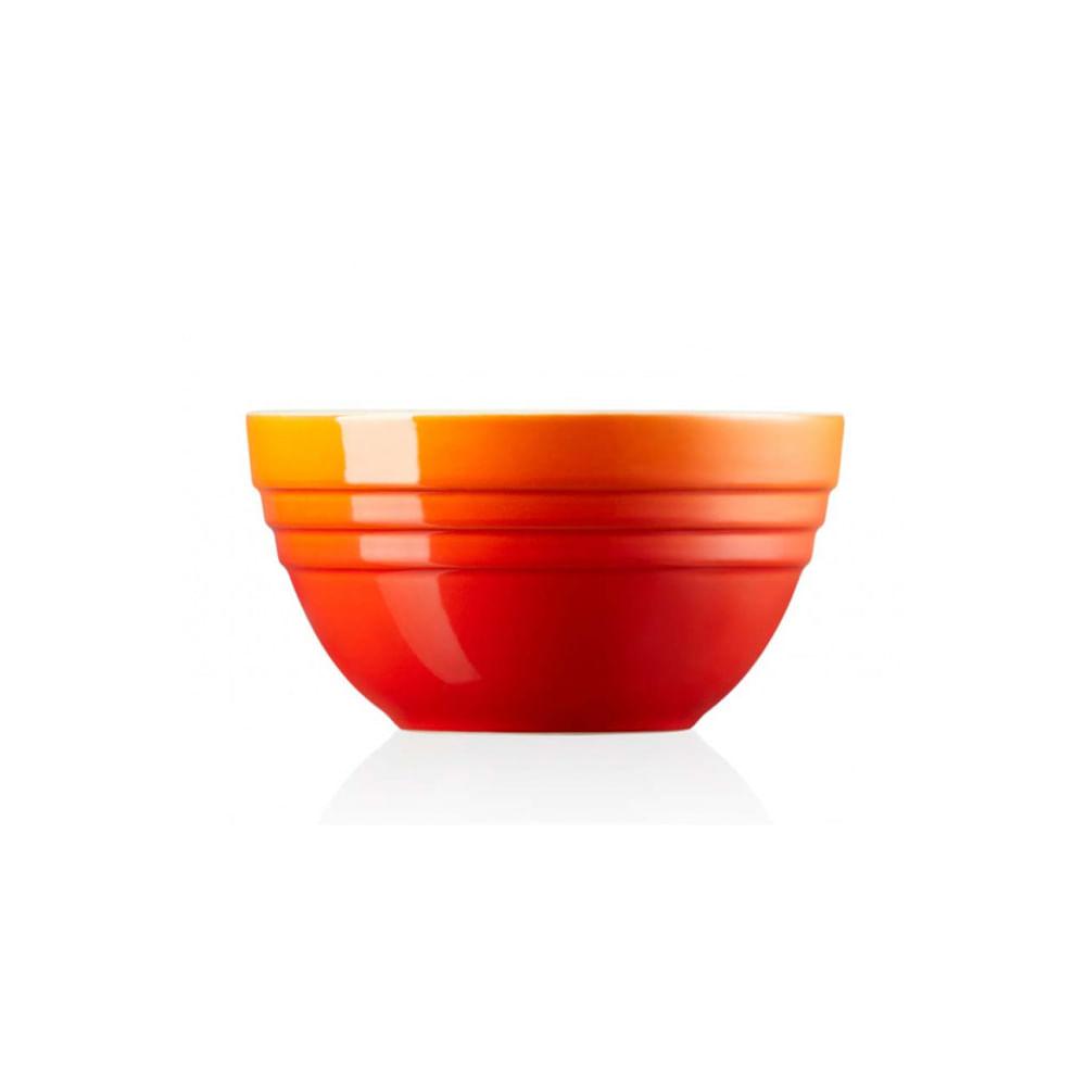 Multi bowl em cerâmica Le Creuset médio laranja