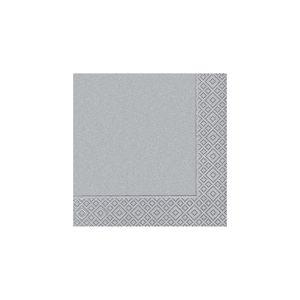 Pacote-de-guardanapos-Paper-Design-Uni-20-unidades-silver