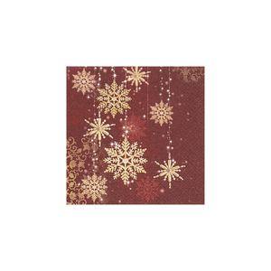 Pacote-de-guardanapos-Paper-Design-Snow-Flakes-20-unidades