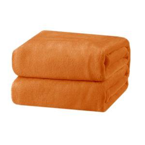 Cobertor-Andreza-Fleece-casal-laranja