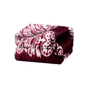 Cobertor-em-microfibra-Andreza-Fleece-queen-220mx240m-Floral-Marsala