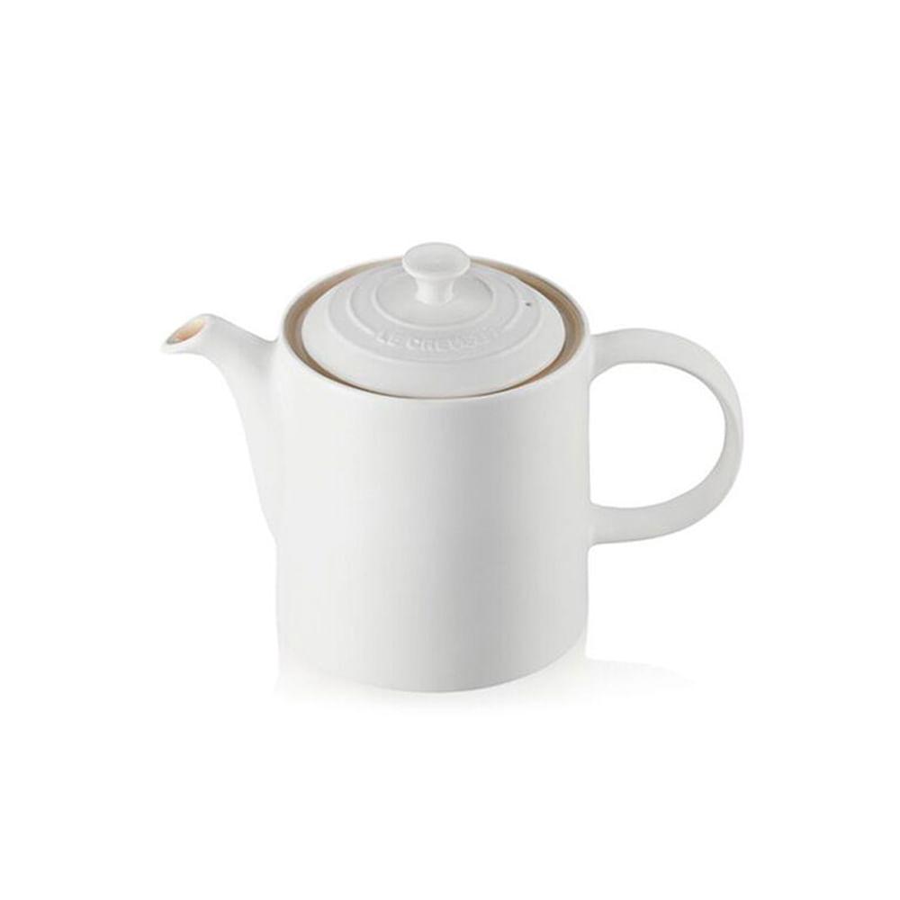 Bule em cerâmica Le Creuset 1,3L branco