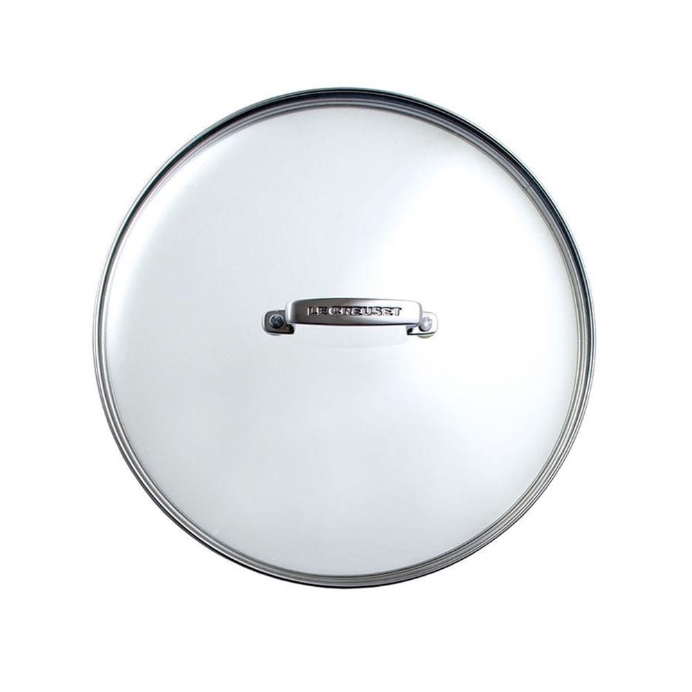 Tampa em vidro e alumínio Le Creuset Non Stick 24cm