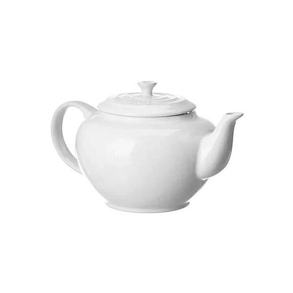 Bule de chá em cerâmica Le Creuset 950ml branco
