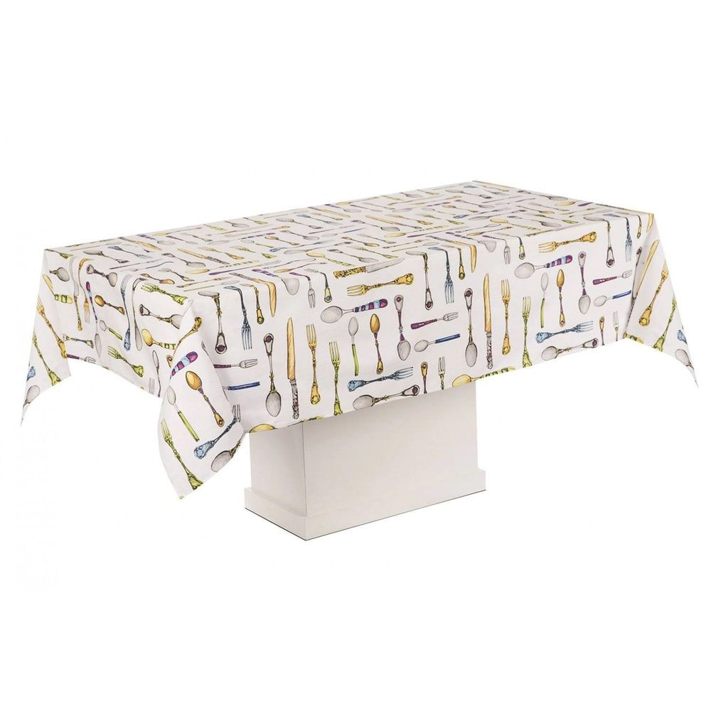 Toalha de mesa retangular 8 lugares Karsten Solari 160x270cm