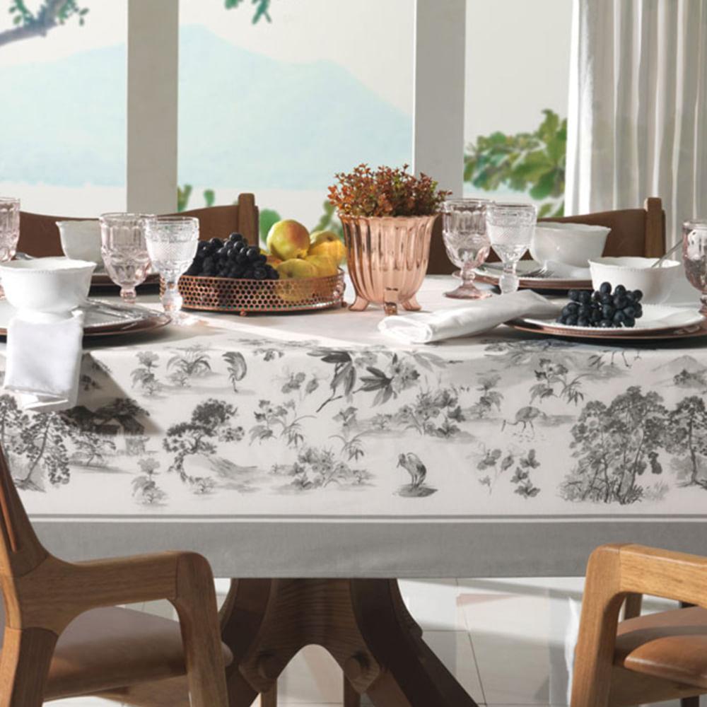 Toalha de mesa Karsten Boa Vista 1,60mx3,20m